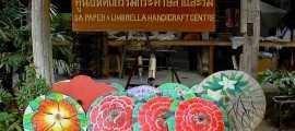 เที่ยวชม หมู่บ้านไทยล้านนา ที่มีชื่อเสียงของเชียงใหม่ หมู่บ้านสินค้าหัตถกรรมพื้นบ้าน ที่ สันกำแพง